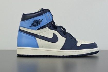 Jordan 1 Retro High Obsidian UNC 555088-140