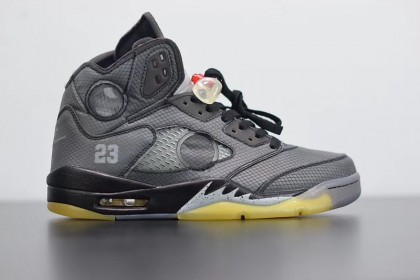 Jordan 5 Retro Off-White Black CT8480-001